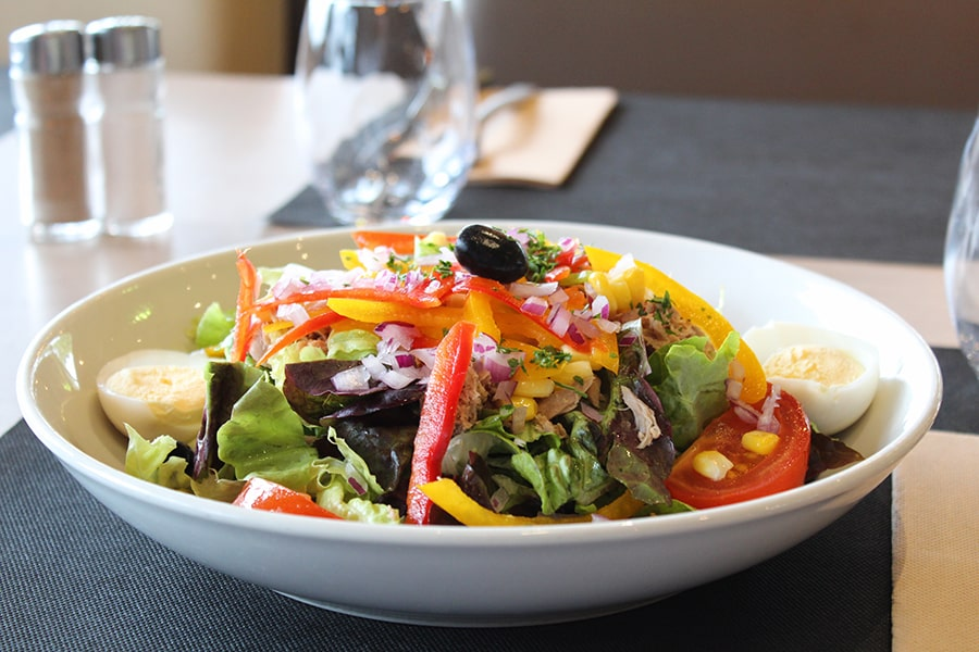 Restaurant Caen-Brasserie Laurent-salade 1