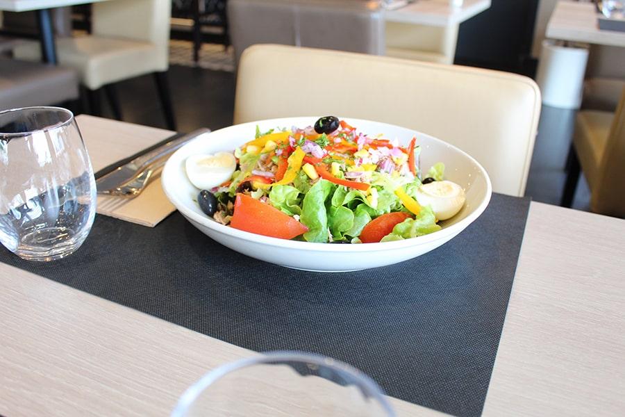 Restaurant Caen-Brasserie Laurent-salade 2